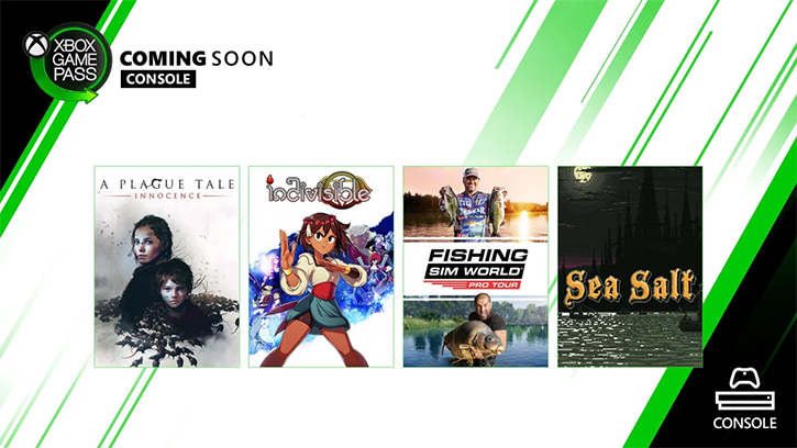 Пополнение каталога Xbox Game Pass: A Plague Tale: Innocence, Indivisible, Sea Salt