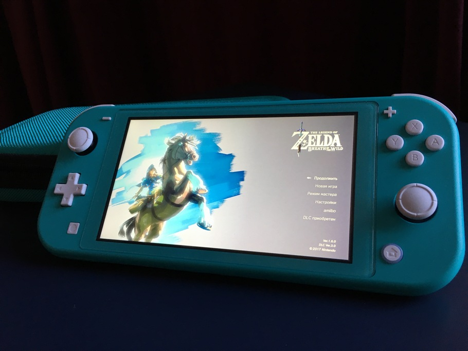 Обзор Nintendo Switch Lite