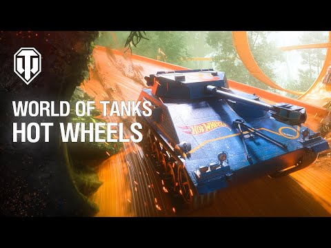 Сезон Hot Wheels стартовал в игре World of Tanks Console